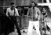 Концерт в Чернигове 1988 год. А. Мерчанский, В. Рекшан, Р. Вови