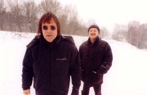 Алексей Пузырев и Михаил Файбушевич. Фото В.Марочкина. 2004.