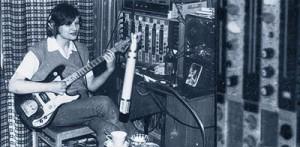 """Алексей Вишня 1984 Студия """"Яншива"""" на Охте. Фото: Александр Волков"""