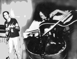 Генри Кайзер - гитара. Влад Макаров -виолончель. Малая сцена ДК им.Горбунова 13.06.1989г.