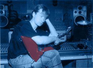 Сергей Богаев в студии. 2004.