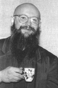 Николай Дмитриев 1994 год, Красноярск. Фото из архива Сергея Летова