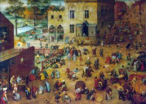 Детские игры. Питер Брейгель Старший. 1560 г.