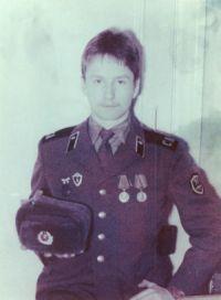Сергей Богаев (в армии)