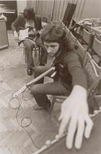 Алексей Вайт (Белов). Фото из архива автора, начало 1970х годов.