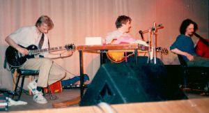 Концерт в ДК им Горбунова. Валерий Дудкин, Фред Фрит, Влад Макаров. 1989 г.
