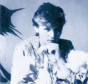 Алексей Вишня на квартире у Нины Трубецкой. 1984г. Фото А.С.Волкова (фото из архива Алексея Вишни)