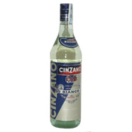Вермут Чинзано Бьянко алк 14.8 0.5 л ст бутылка Италия.