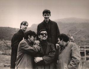 ОРФЕЙ в Армении: Витебский-Добрынин-Бергер-Шаповалов (фото из личного архива Бергера)