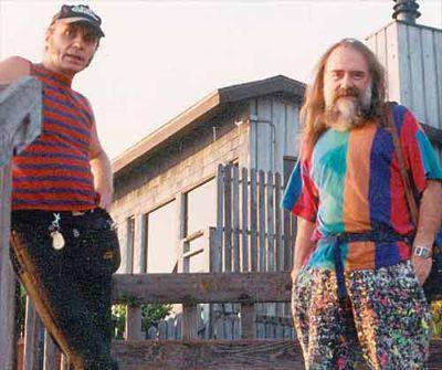 Сергей ДЮЖИКОВ и Юрий ВАЛОВ. Калифорния. 1994 год (из архива Ю.Валова).