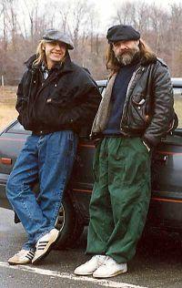 Дюжиков и Валов. В Нью-Йорке. 1989.