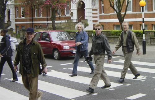 Современные «Поющие Сердца»: Индроков, Харакидзян, Грегер, Куклин – в Англии, на легендарной «Abbey Road».