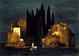 Арнольд Беклин – «Остров мертвых». 1880 г.