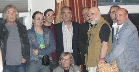 Группа СУПЕР 2006 - Малежик, Ярушин, Дегтярев, Бергер, Витебский, Валов, Дьячков, Полонский, Петерсон...