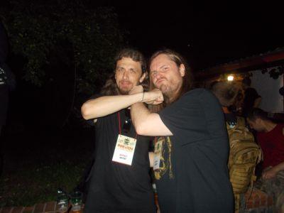 3. with Mathias Lodmalm (CEMETARY)