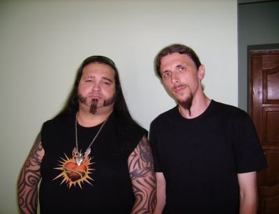 8. with Felix Stass (CREMATORY)