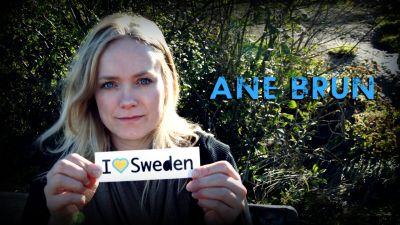 «Ане Брун - теперь и в Швеции»