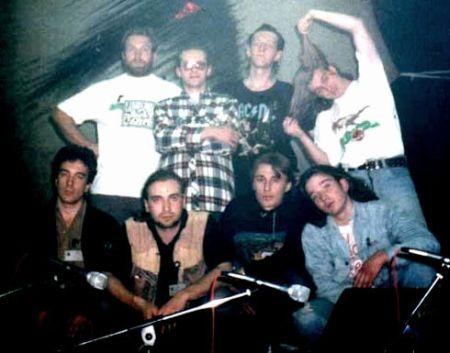 """Якутск """"Табык"""" 1995г. вверху первый справа Руслан Наумов, второй Себорин, внизу первый справа Денис Дудов"""