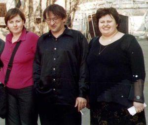 Cлева направо: Наталья Шеремет, Юрий Вязанкин, Татьяна Гайдукова