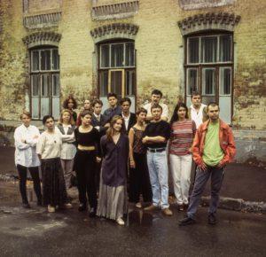 Первая редакция ОМа золотой состав в полном сборе, 1996. Фото Василий Кудрявцев.