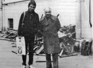 Сергей Курёхин и Владимир Фейертаг, 1982(?)