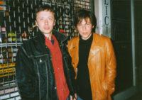 С Ильей Лагутенко, Лондон, апрель 1997. Фото Сергей Сергеев