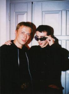 С Марком Алмондом, 1999. Фото Макс Седов