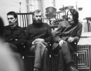 Перманествующие как трио Вадим Петренко-Валерий Дудкин и шэф Влад Макаров 1988 Музыкальный ринг.