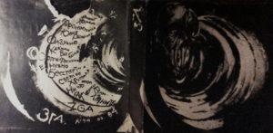 фото меня с вэб камеры с найденой раритетной бобиной первого згинского магнитальбома 1984 г Кстати, дизайн мой