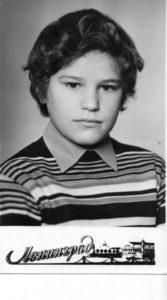 Пётр Трощенков, 13 лет