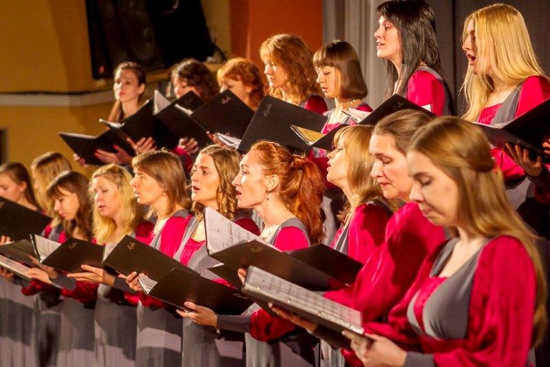 Женский хор в картинках